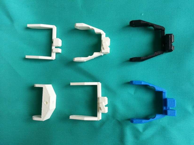 The process of creating a wearable servo mount andbracket